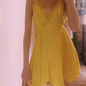 Yellow summer dress!